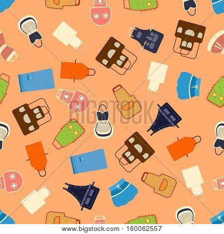 Kitchen apron set  illustration.