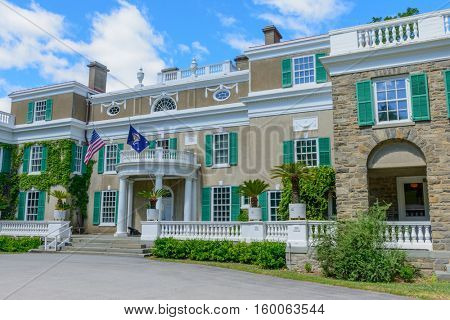 Franklin D Roosevelt House