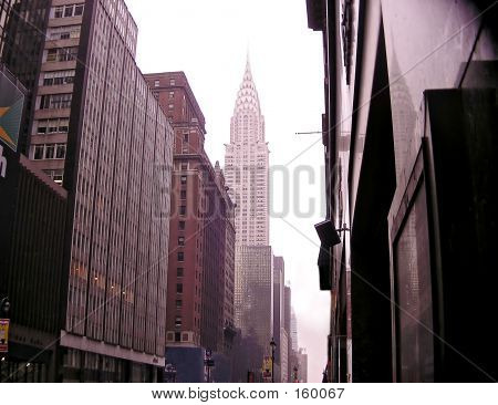 Нью-Йорк на фоне линии горизонта 12