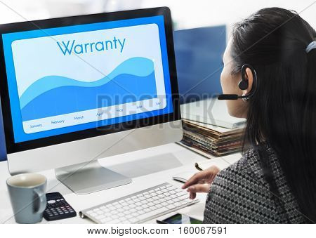 Quality Assurance Guarantee Warranty Trustworthy Concept