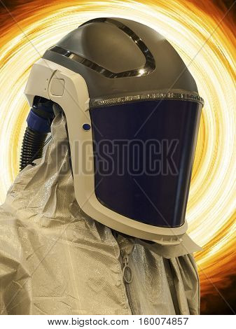 Special suit to protect people from the harmful effects of the environment