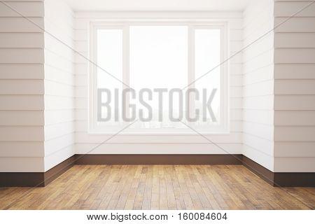 Unfurnished White Room
