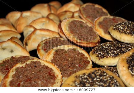 Lebanese Traditional Snack Food