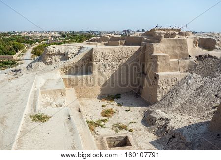 Tepe Sialk ancient archeological site in Kashan Iran
