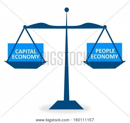 Capital Economy and People Economy