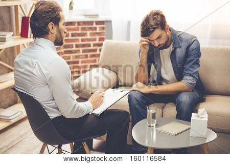 Man At The Psychologist