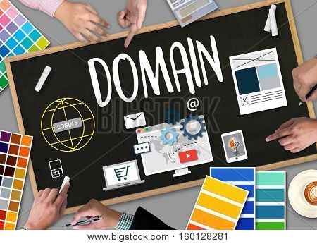 Big Data On Domain Web Page And  Seo , Internet And Web Telecommunication Domain ,  Global Communica