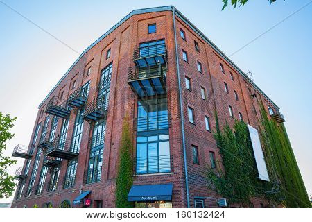 Historic Warehouse In The Waterfront Muenster, Germany