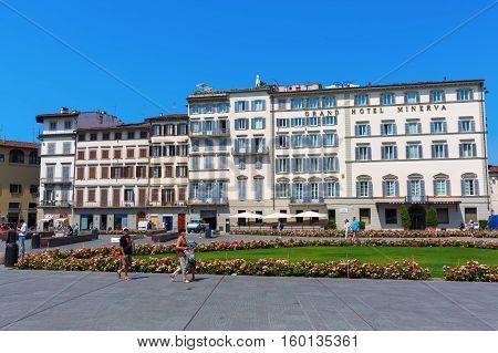 Piazza Santa Maria Novella In Florence
