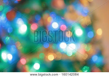 New Year treegifts snowman bokehchristmas background design tree