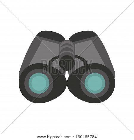 binoculars explorer glasses spyglass vector illustration eps 10