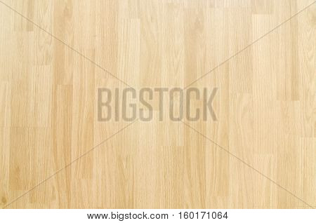 Hardwood maple basketball court floor viewed from above poster