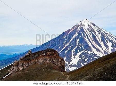 Vulcan. Kamchatka