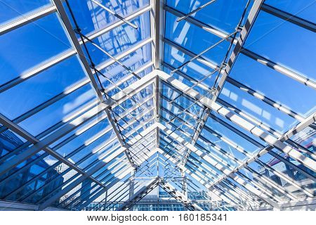High-tech Architecture, Glass Roof