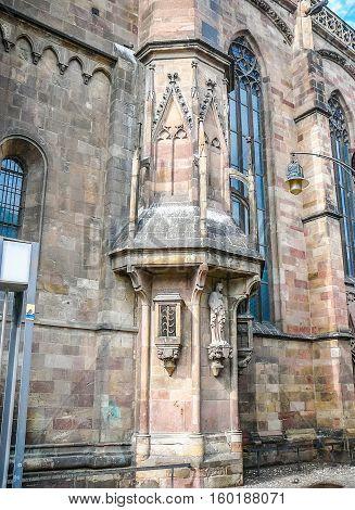 Hdr Santa Maria Assunta Cathedral In Bolzano