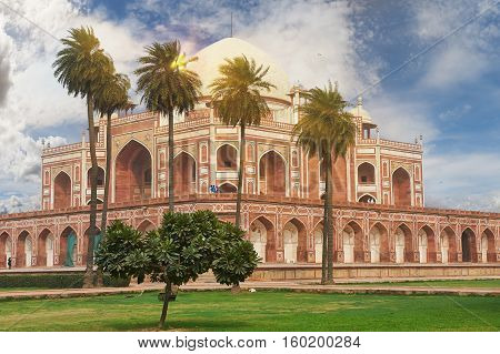Humayun Tomb New Delhi, India.