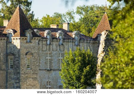 Chateau de Cazeneuve Prechac Bordeaux region France