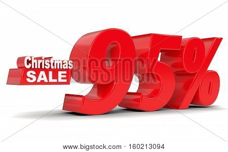 Christmas Sale. Discount Ninety Five Percent Off