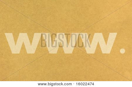 World Wide Web Sign
