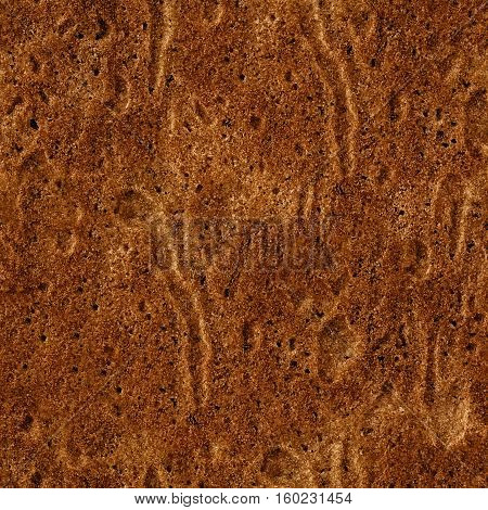 Seamless Pattern of Baking Texture. Brown Cake texture