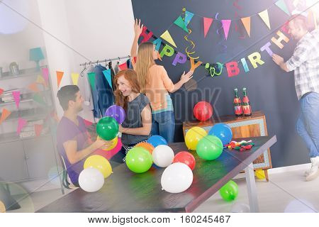 Decorating Room For Birthday Party