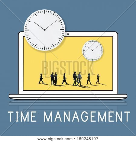 Time Management Duration Schedule Punctual Concept