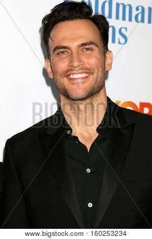 LOS ANGELES - DEC 4:  Cheyenne Jackson at the TrevorLIVE Los Angeles 2016 at Beverly Hilton Hotel on December 4, 2016 in Beverly Hills, CA