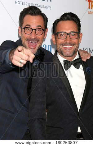 LOS ANGELES - DEC 4:  Lawrence Zarian, Gregory Zarian at the TrevorLIVE Los Angeles 2016 at Beverly Hilton Hotel on December 4, 2016 in Beverly Hills, CA