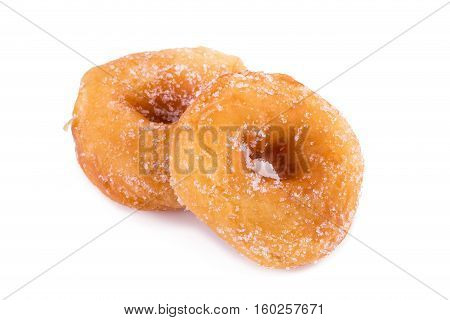 Sugary Donut Isolated On A White Background