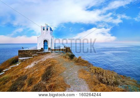 church of the Seven Martyrs Sifnos island Cyclades Greece