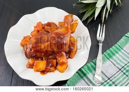 Pineapple Chicken Thigs