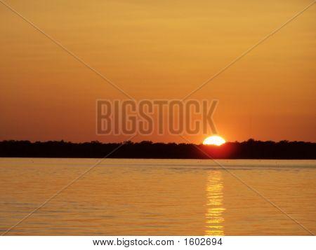Horizontal Texas Sunset