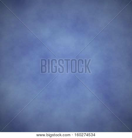 Soft blue smoky gas cosmos air background backdrop texture