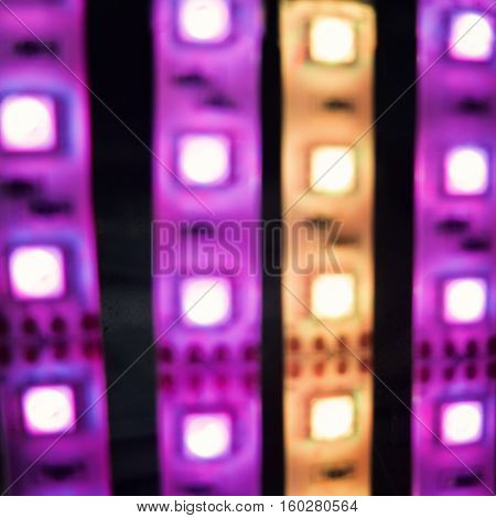 Colorful lights, glowing abstract background.