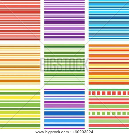 Seamless patterns with fabric texture, stripes texture. Texture for web, print, wallpaper, home decor, textile, website background.