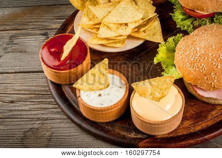 Selection Of Different Food For A Party
