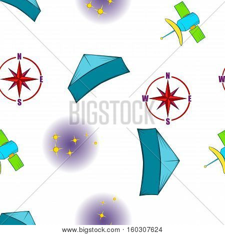 Find way pattern. Cartoon illustration of find way vector pattern for web