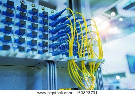 fiber optic in technology data center