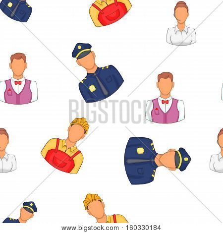 Specialty pattern. Cartoon illustration of specialty vector pattern for web
