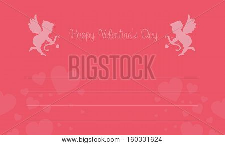 Background for valentine card vector art collection stock