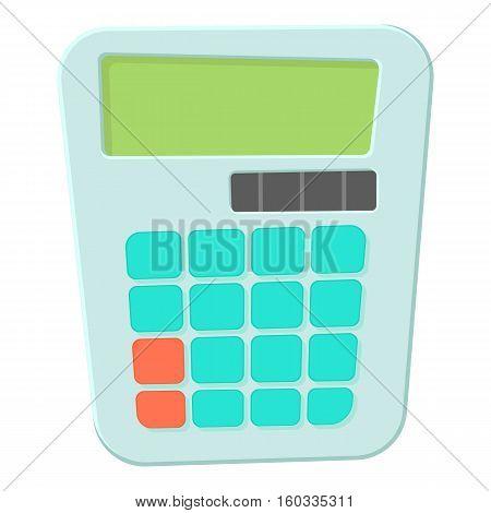 Calculator icon. Cartoon illustration of calculator vector icon for web