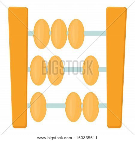 Abacus icon. Cartoon illustration of abacus vector icon for web