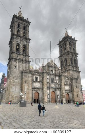 Puebla Cathedral - Mexico