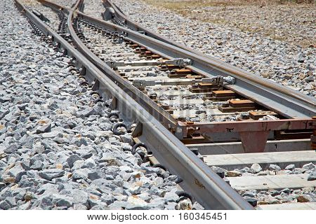 The turning point of the rails transportation metal