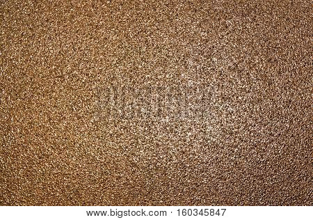 Abstract bronze texture, grunge background, grainy abstraction, brown texture