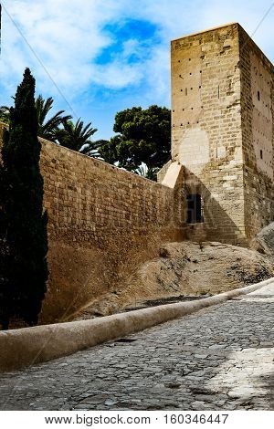 beautiful views of the ancient Spanish fortress
