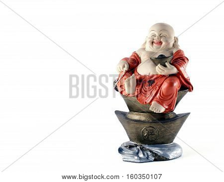 Chinese god plaster doll with character