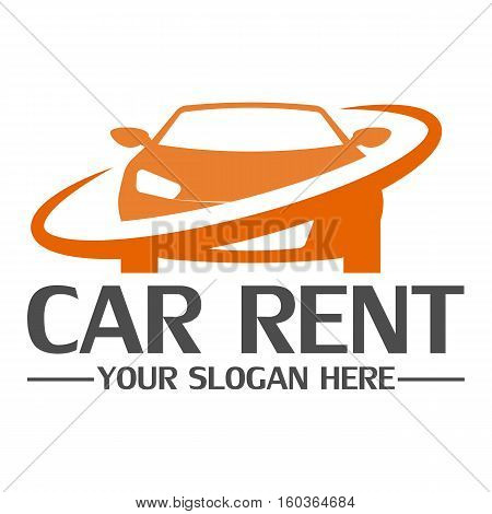 Car rent logo design template eps 10