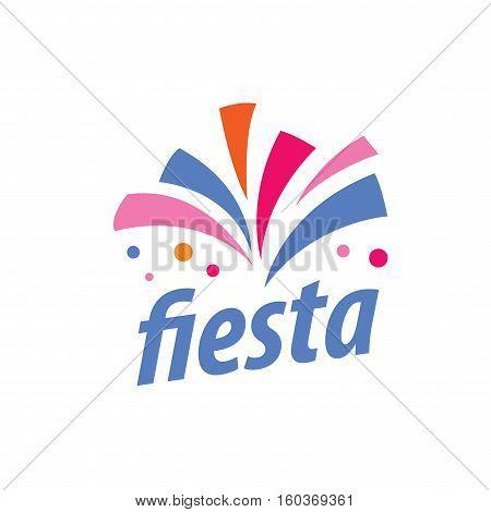 Abstract logo for fiesta. Vector illustration icon