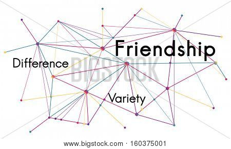 Web Link Chain Interconnection Concept